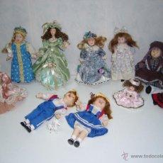 Muñecas Porcelana: PRECIO POR TODO EL LOTE-MUÑECAS- PORCELANA-LOTE-COMUNIÓN-PRECIOSAS-IMPECABLES-MARCA-ÁNGEL. Lote 54636980