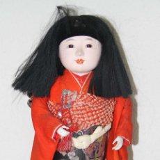 Muñecas Porcelana: MU079 MUÑECA JAPONESA ICHIMATSU. PORCELANA. JAPÓN. AÑOS 80. Lote 54373022