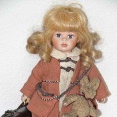 Muñecas Porcelana: MU028 MUÑECA ALBERON. PORCELANA. MARCADA EN LA NUCA. INGLATERRA. S. XX. Lote 51332685