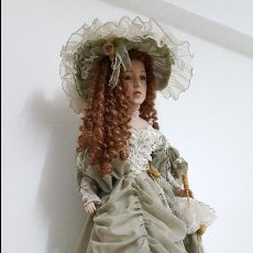 Porzellan-Puppen - Preciosa y muy grande muñeca de porcelana.(113cm) - 54812074