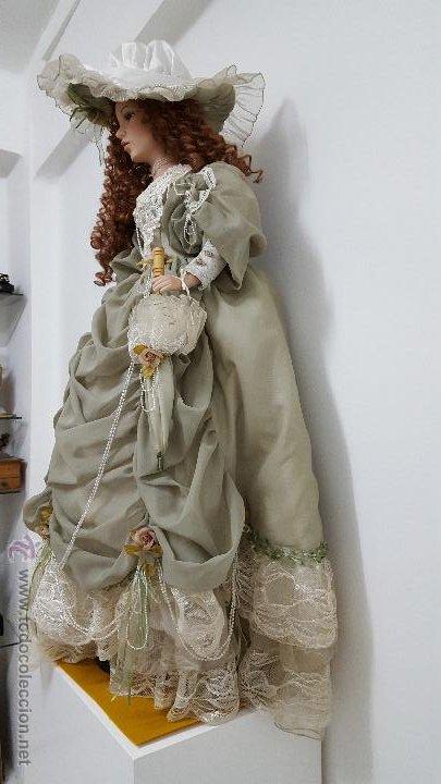 Muñecas Porcelana: Preciosa y muy grande muñeca de porcelana.(113cm) - Foto 5 - 54812074