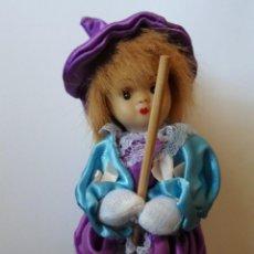 Muñecas Porcelana: MUÑECA BRUJITA - ROSTRO EN PORCELANA. Lote 55053188