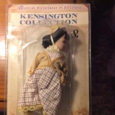 Muñecas Porcelana: MUÑEQUITA VICTORIANA DE PORCELANA DE LA COLECCIÓN KENSINGTON, NUEVA EN SU BLÍSTER. Lote 56004016