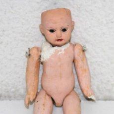 Muñecas Porcelana: MU097 MUÑECA PARA RESTAURAR. PORCELANA Y PAPIER MACHÉ. FIRMADA B.I. PRINC. S. XX. Lote 56099158