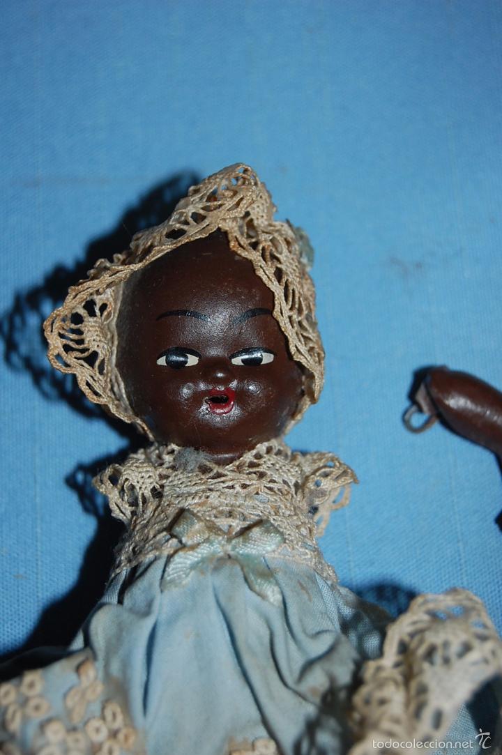 Muñecas Porcelana: BEBE EN TERRACOTA O PORCELANA CIRCA 1920 - Foto 2 - 56151044