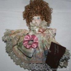 Muñecas Porcelana: MUÑECA ITALIANA DE PORCELANA LE BAMBOLE DI MIRIANA CON EL CERTIFICADO DE GARANTIA. Lote 56232522
