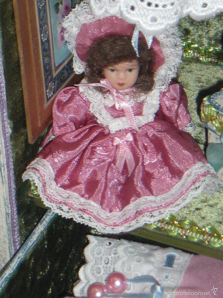 Muñecas Porcelana: ARMARIO MUÑECA DE PORCELANA, MUÑECA ANTIGUA, ARMARIO DE JUGUETE, JUGUETE CLASICO - Foto 9 - 56318065