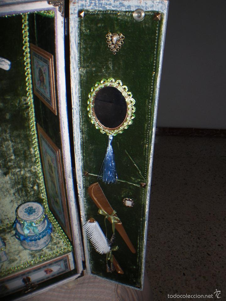 Muñecas Porcelana: ARMARIO MUÑECA DE PORCELANA, MUÑECA ANTIGUA, ARMARIO DE JUGUETE, JUGUETE CLASICO - Foto 49 - 56318065