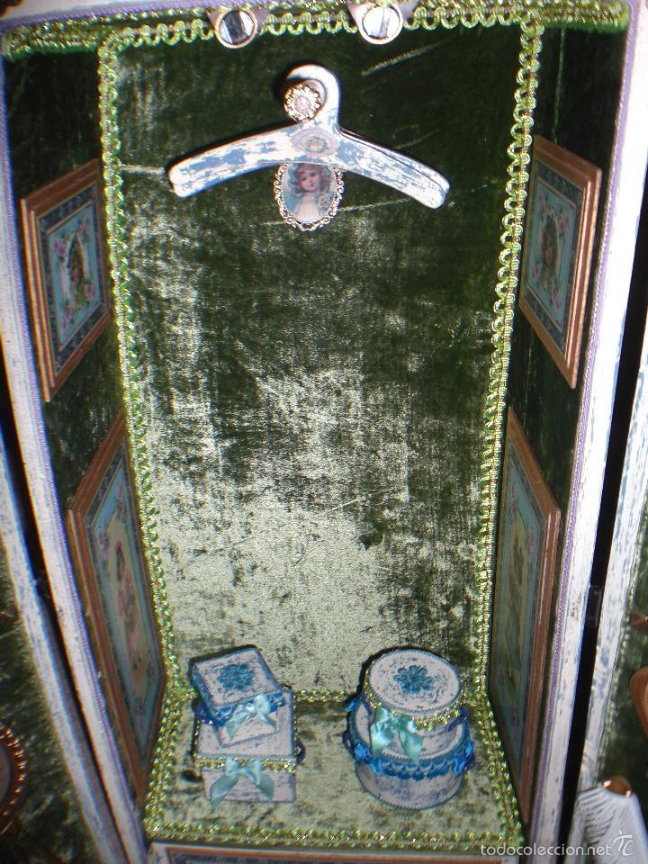 Muñecas Porcelana: ARMARIO MUÑECA DE PORCELANA, MUÑECA ANTIGUA, ARMARIO DE JUGUETE, JUGUETE CLASICO - Foto 51 - 56318065