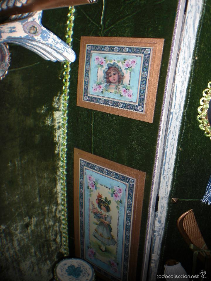 Muñecas Porcelana: ARMARIO MUÑECA DE PORCELANA, MUÑECA ANTIGUA, ARMARIO DE JUGUETE, JUGUETE CLASICO - Foto 52 - 56318065