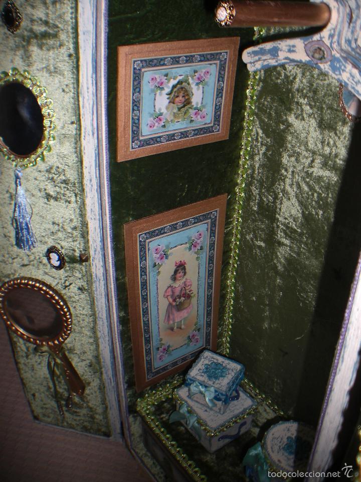 Muñecas Porcelana: ARMARIO MUÑECA DE PORCELANA, MUÑECA ANTIGUA, ARMARIO DE JUGUETE, JUGUETE CLASICO - Foto 53 - 56318065