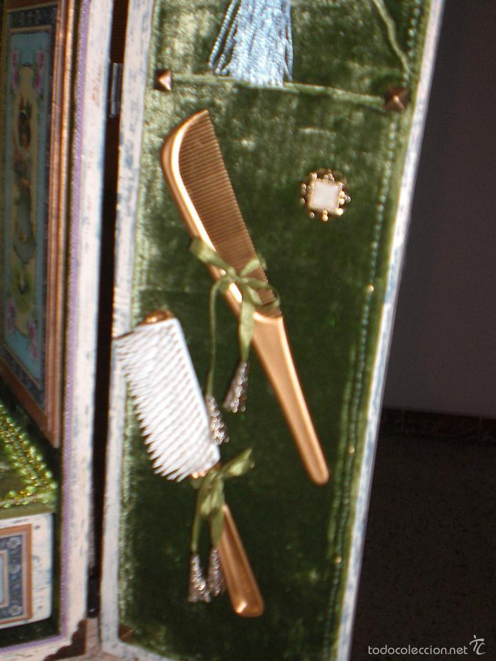 Muñecas Porcelana: ARMARIO MUÑECA DE PORCELANA, MUÑECA ANTIGUA, ARMARIO DE JUGUETE, JUGUETE CLASICO - Foto 57 - 56318065