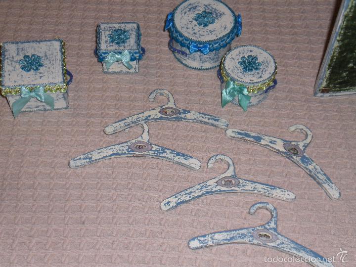 Muñecas Porcelana: ARMARIO MUÑECA DE PORCELANA, MUÑECA ANTIGUA, ARMARIO DE JUGUETE, JUGUETE CLASICO - Foto 64 - 56318065