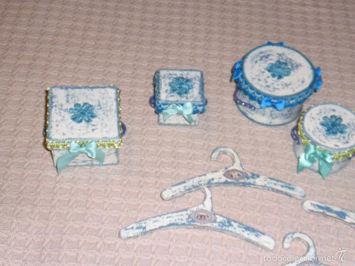 Muñecas Porcelana: ARMARIO MUÑECA DE PORCELANA, MUÑECA ANTIGUA, ARMARIO DE JUGUETE, JUGUETE CLASICO - Foto 65 - 56318065