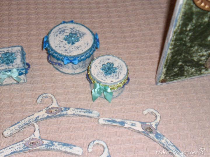 Muñecas Porcelana: ARMARIO MUÑECA DE PORCELANA, MUÑECA ANTIGUA, ARMARIO DE JUGUETE, JUGUETE CLASICO - Foto 67 - 56318065