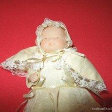 Bambole Porcellana: MUÑECO BEBE MODERNO PORCELANA VESTIDO FALDON DE BAUTIZO.. Lote 56553677