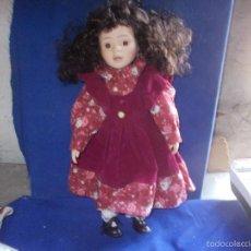 Muñecas Porcelana: MUÑECA. Lote 57002747
