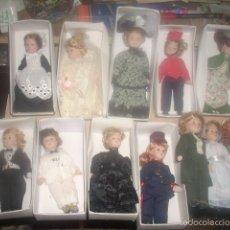 Muñecas Porcelana: LOTE DE 53 MUÑECAS PEQUEÑAS DE PORCELANA, NUEVAS. Lote 57168742