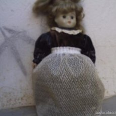 Muñecas Porcelana: MUÑECA DE PORCELANA DE EPOCA. Lote 57196664