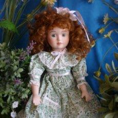 Muñecas Porcelana: PRECIOSA MUÑECA DE PORCELANA -''STEPHANIE'' MARCA SYMPHONY - MARCADA EN LA NUCA - VER FOTOS!. Lote 57470695