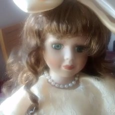 Muñecas Porcelana: MUÑECA DE PORCELANA AÑOS 80. Lote 57611936