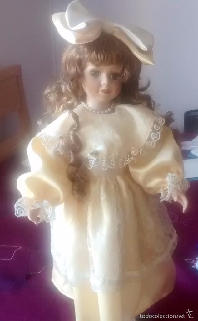 Muñecas Porcelana: muñeca de porcelana años 80 - Foto 3 - 57611936