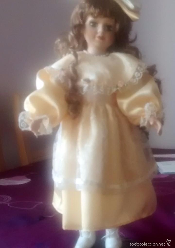 Muñecas Porcelana: muñeca de porcelana años 80 - Foto 4 - 57611936
