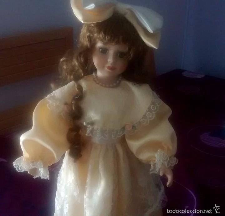 Muñecas Porcelana: muñeca de porcelana años 80 - Foto 9 - 57611936