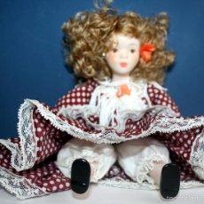 Muñecas Porcelana: MUÑECA DE PORCELANA. SEVILLANA . MARCA FANAS.. Lote 57680389