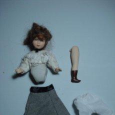 Muñecas Porcelana: MUÑECA DE PORCELANA ANTIGUA PARA RESTAURAR O PIEZAS,. Lote 58001371