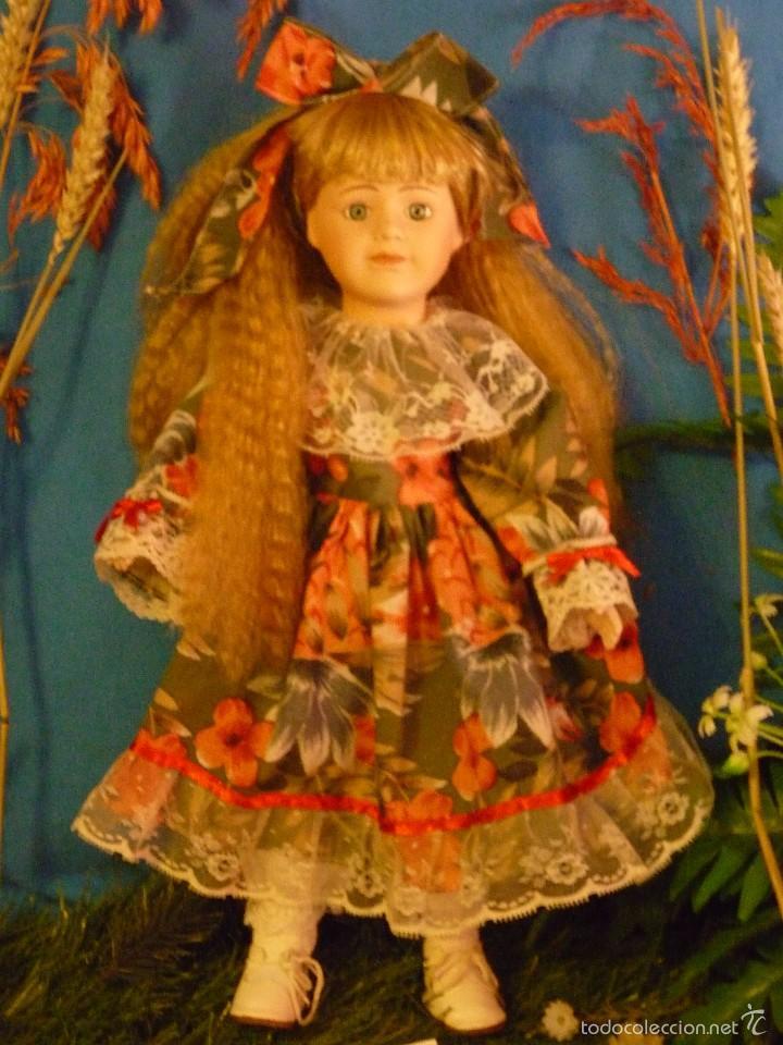 Muñecas Porcelana: MUÑECA DE PORCELANA MARCA THE CLASSIQUE COLLECTION (DANIELLA) 41 CM - FABULOSO ESTADO - Foto 2 - 58118640