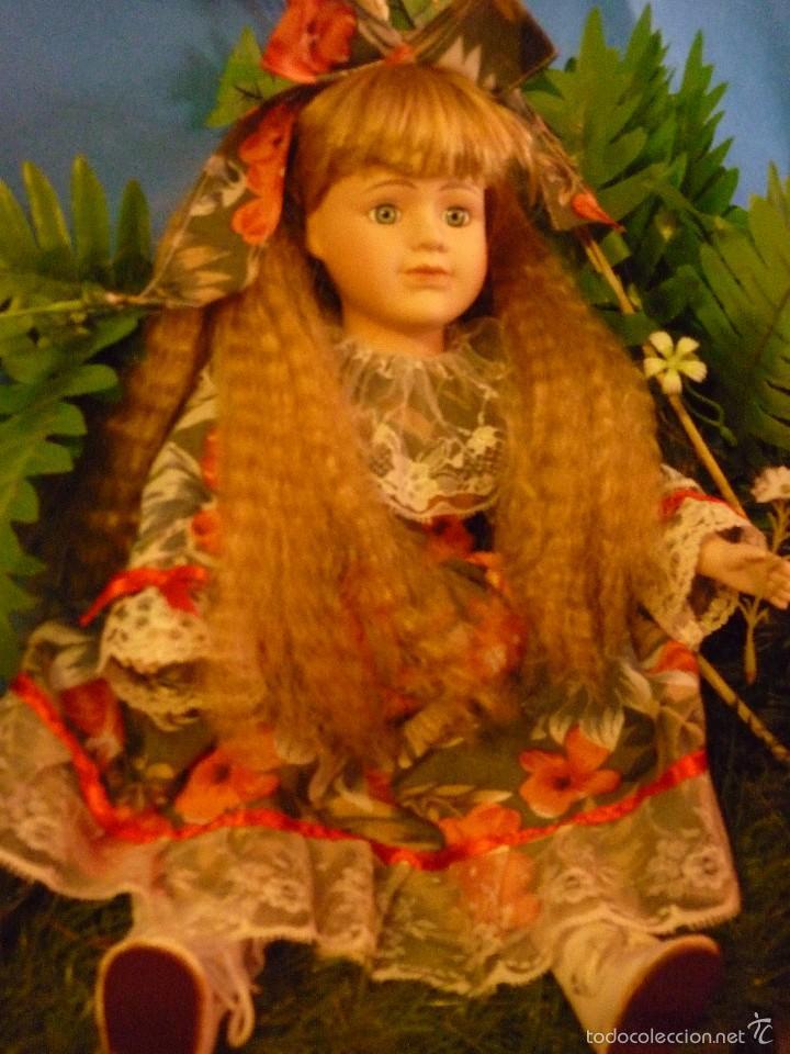 Muñecas Porcelana: MUÑECA DE PORCELANA MARCA THE CLASSIQUE COLLECTION (DANIELLA) 41 CM - FABULOSO ESTADO - Foto 4 - 58118640