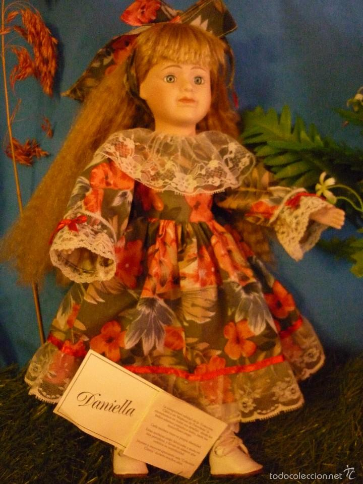Muñecas Porcelana: MUÑECA DE PORCELANA MARCA THE CLASSIQUE COLLECTION (DANIELLA) 41 CM - FABULOSO ESTADO - Foto 9 - 58118640