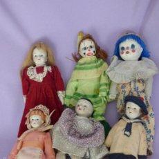 Muñecas Porcelana: LOTE DE MUÑECAS DE PORCELANA. Lote 58148368