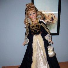 Muñecas Porcelana: MUÑECA PORCELANA-NAVIDAD.-COLECCIÓN-NUEVA-BODA-REGALO-COMUNIÓN-GRANDE-PRECIOSA. Lote 58161511