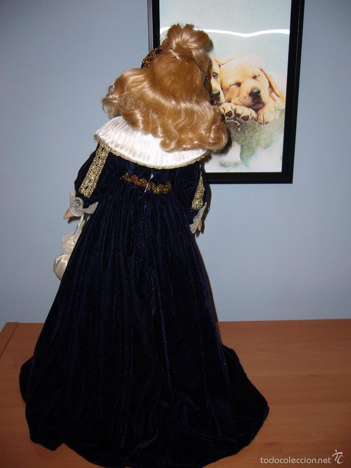 Muñecas Porcelana: MUÑECA PORCELANA-NAVIDAD.-COLECCIÓN-NUEVA-BODA-REGALO-COMUNIÓN-GRANDE-PRECIOSA - Foto 3 - 58161511