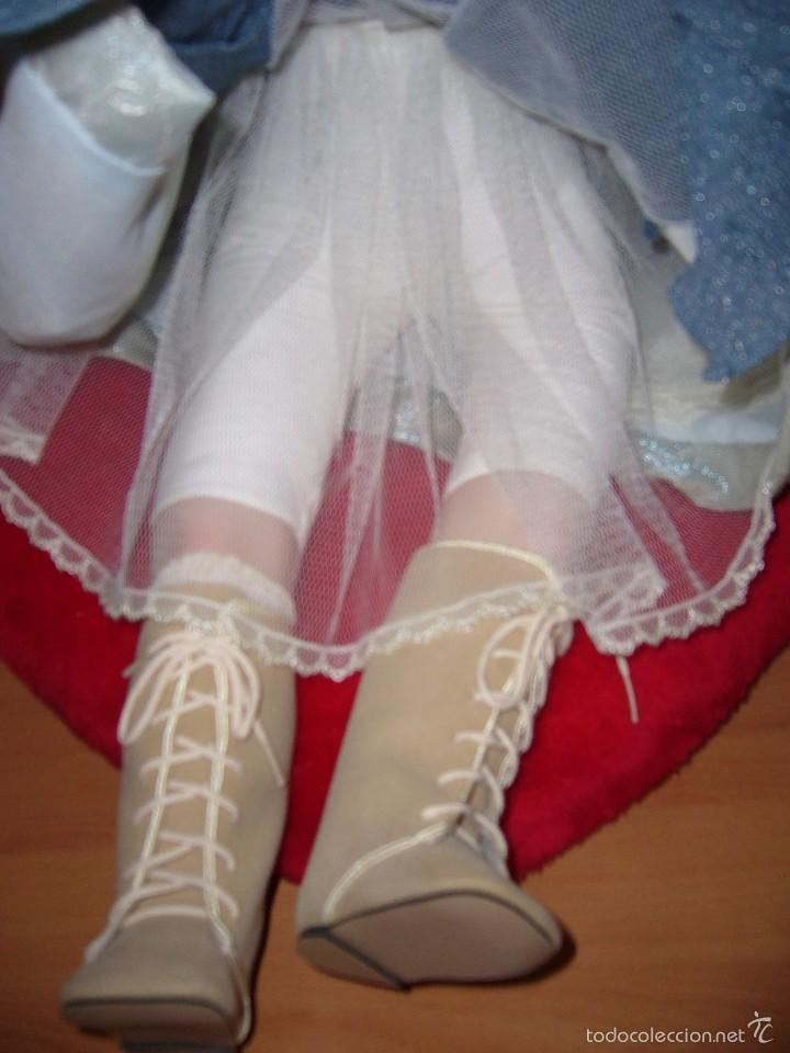 Muñecas Porcelana: MUÑECA PORCELANA-NAVIDAD.-COLECCIÓN-NUEVA-BODA-REGALO-COMUNIÓN-GRANDE-PRECIOSA - Foto 10 - 58161511