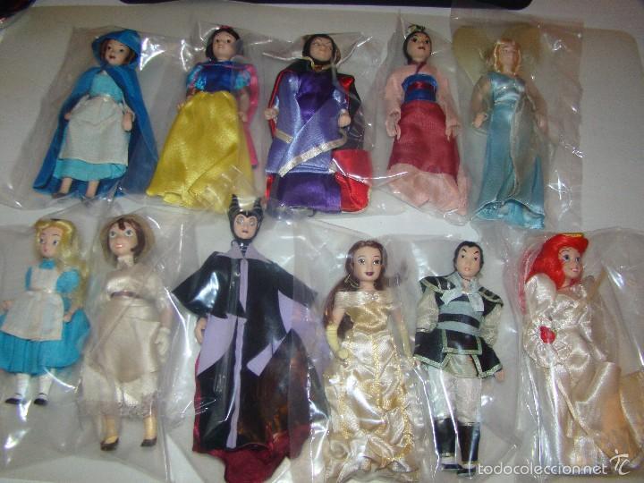Muñecas Porcelana: Lote de Princesas Disney de porcelana - Foto 2 - 58266173