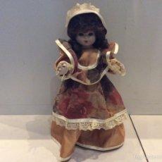 Muñecas Porcelana: MUÑECA DE PORCELONA. ARTICULADA. 38 CM. OJOS FIJOS. Lote 58490660