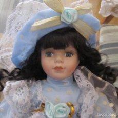 Muñecas Porcelana: M69 MUÑECA DE PORCELANA. Lote 58550194