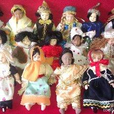 Poupées Porcelaine: BONITO LOTE DE 15 MUÑECAS DEL MUNDO DE PORCELANA DIFERENTES - MUÑECA COLECCIÓN RBA EDITORES -. Lote 58594271
