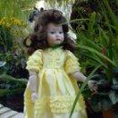 Muñecas Porcelana: MUÑECA DE PORCELANA BISCUIT. Lote 58616045