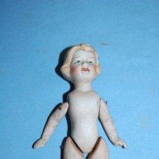 Muñecas Porcelana: MUÑECA EN PORCELANA DE BISCUIT. Lote 58735630