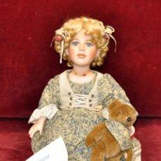 Muñecas Porcelana: MUÑECA DE PORCELANA ALEMANA MARCA FRANCA. TIRAJE LIMITADO CON CERTIFICADO. Lote 59002430