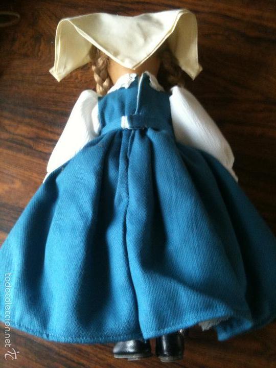 Muñecas Porcelana: MUÑECA DE PORCELANA Y TELA DE LA MARCA ALEMANA SCHNEIDER 30 CM ALTO - Foto 3 - 59972819