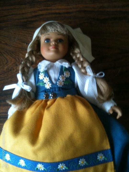 Muñecas Porcelana: MUÑECA DE PORCELANA Y TELA DE LA MARCA ALEMANA SCHNEIDER 30 CM ALTO - Foto 4 - 59972819