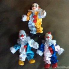 Muñecas Porcelana: PAYASOS DE PORCELANA. Lote 60884311