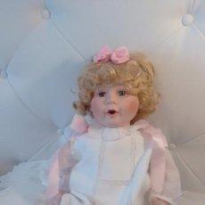 Muñecas Porcelana: MUÑECO BEBE DE PORCELANA. Lote 61294379