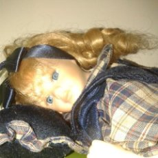 Muñecas Porcelana: MUÑECA PORCELANA AÑOS 90. Lote 62405684