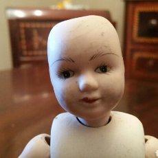 Muñecas Porcelana: MUÑECO CABEZA DE PORCELANA. 22 CM.. Lote 62721575